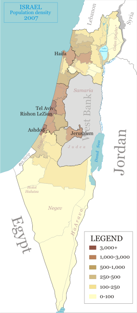 Israel_population_density