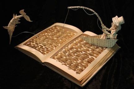 Image 9b. Jodi Harvey-Brown book sculpture (2017)..jpg