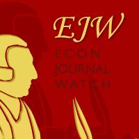 Econ Journal Watch - Home | Facebook