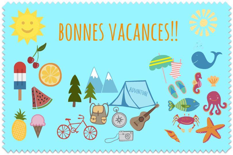 Français IES Picasso: Bonnes vacances!